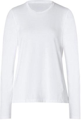 Jil Sander Cotton T-Shirt in White