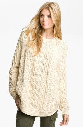 MICHAEL Michael Kors Fisherman Cable Knit Sweater