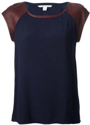 Diane von Furstenberg bi-colour t-shirt