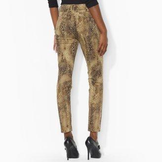 Ralph Lauren Python Modern Skinny Jean