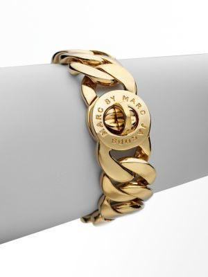 Marc by Marc Jacobs Katie Turnlock Bracelet/Gold