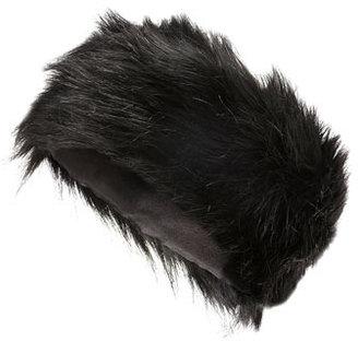 Dorothy Perkins Black faux fur headband