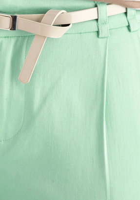 New Slack Swing Pants in Mint