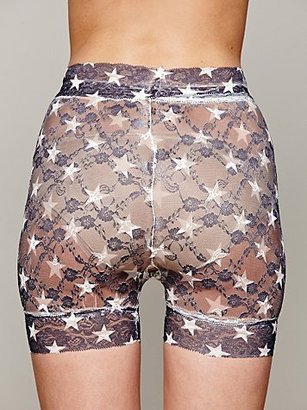 Look From London Printed Boyshort