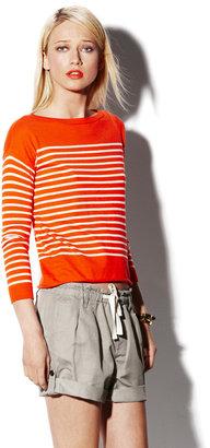 Vince Boatneck Stripe Sweater
