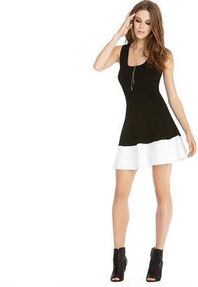 Rachel Roy Color Block Sweater Dress