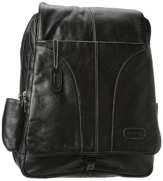 Leatherbay Laptop Leather Backpack
