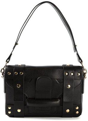 Vanessa Bruno gold stud shoulder bag