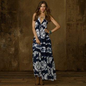 Denim & Supply Ralph Lauren Tie-Dye Tiered Jersey Dress