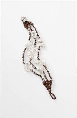J. Jill Delicate pearl triple-strand bracelet