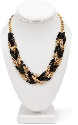Forever 21 braided chain necklace