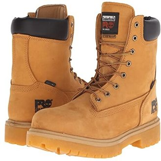 Timberland Direct Attach 8 Steel Toe (Wheat Nubuck Leather) Men's Work Lace-up Boots
