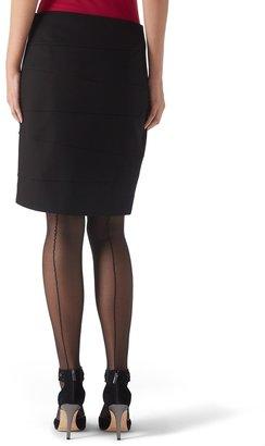 White House Black Market Short Ponte Pencil Skirt