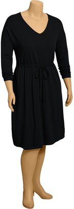 Old Navy Women's Plus Tie-Waist Jersey Dresses
