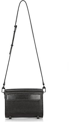 Alexander Wang Chastity 3D Mini Leather Mesh Shoulder Bag