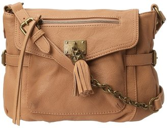 Jessica Simpson Victoire Messenger (Almond) - Bags and Luggage
