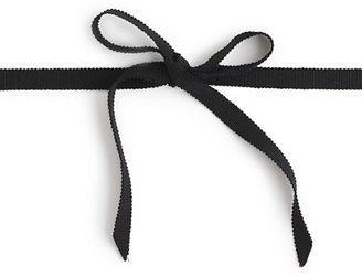 J.Crew Ribbon-tied long pearl necklace