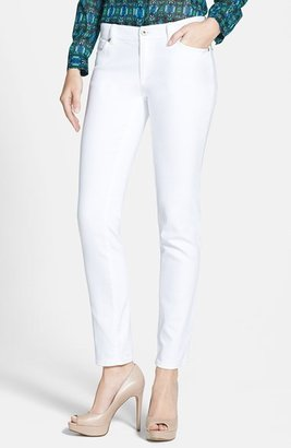 Vince Camuto Two by Stretch Denim Skinny Jeans (Ultra White)