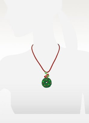 Dolci Gioie Christmas Wreath Necklace