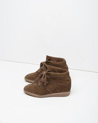 Isabel Marant Bobby Low-Top Sneaker