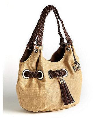 MICHAEL Michael Kors Braided Grommet Large Shoulder Bag