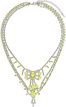 Topshop Bling Rhinestone Collar