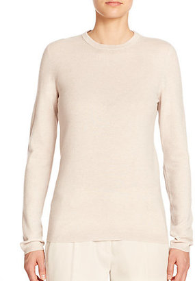 Brunello Cucinelli Cashmere & Suede Sweater