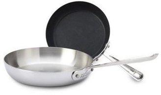 All-Clad 2-pc. Nonstick D5 Brushed French Skillet Set