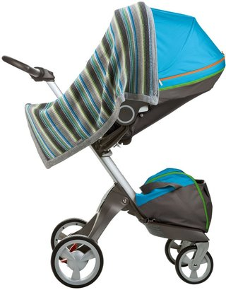 Stokke Knitted Blanket - Blue - One Size