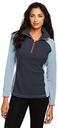 Columbia Women's Glacial Fleece III Half-Zip Jacket $17.55 thestylecure.com