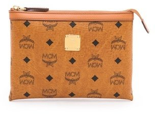 MCM Heritage Flat Cosmetic Case