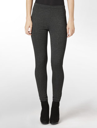 Calvin Klein Glitter Detailed Leggings