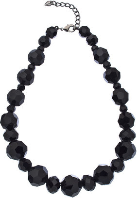 Carolee Night Vision Graduated Beaded Necklace