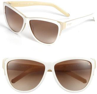 Chloé 59mm Oversized Sunglasses