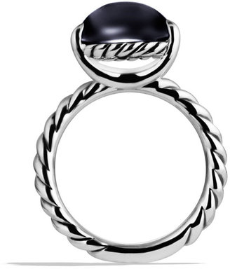 David Yurman Color Classics Ring with Black Onyx
