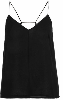 Topshop Pleat back strappy cami