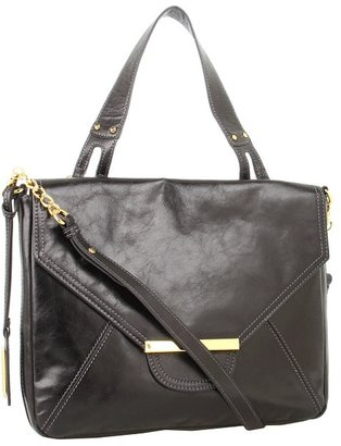 Badgley Mischka Erin Flap (Black) - Bags and Luggage