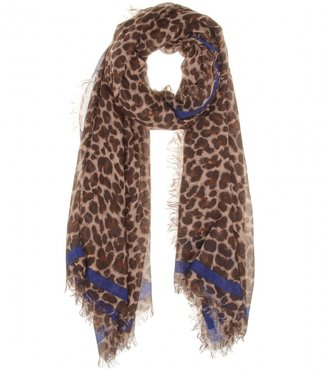 Marc by Marc Jacobs Lenora Leopard print scarf