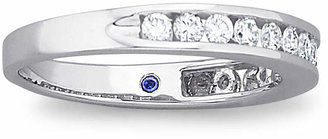 I Said Yes Diamond Ring, 1/2 CT. T.W. Certifed Diamond Channel Band