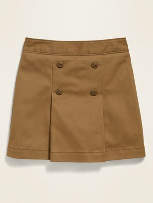 Old Navy Uniform Pleated Twill Skort for Girls