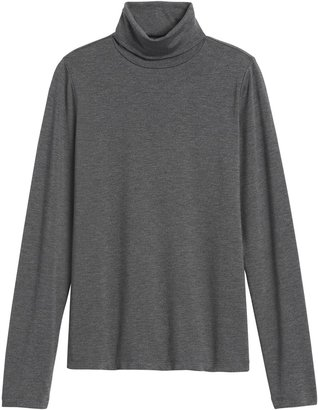 Banana Republic Threadsoft Turtleneck T-Shirt