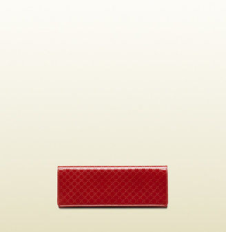 Gucci Broadway Microguccissima Leather Evening Clutch