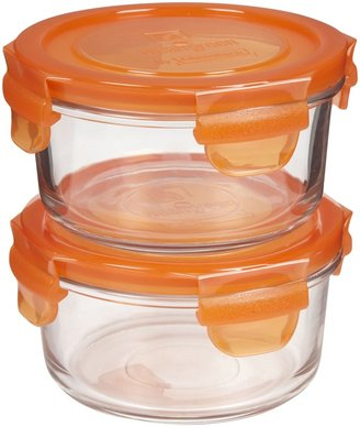 Wean Green Lunch Bowl Carrot (Pack of 2) - 405ml-Orange