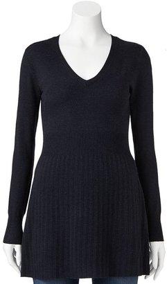 Babydoll Daisy fuentes ® ribbed sweater