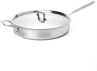 All-Clad d5 Stainless Brushed 6-Quart Sauté Pan with Lid