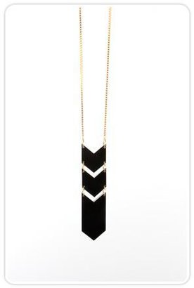 Cosmic Thread Arrow of Time Necklace