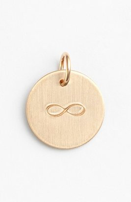 Women's Nashelle Infinity Stamp Charm $35 thestylecure.com