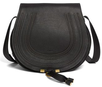 Chloe 'Marcie - Medium' Leather Crossbody Bag - Black $1,490 thestylecure.com