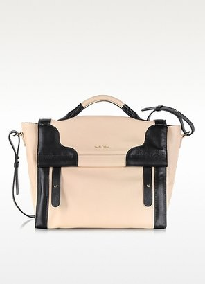 See by Chloe Iris Black and Bliss Leather Satchel Bag