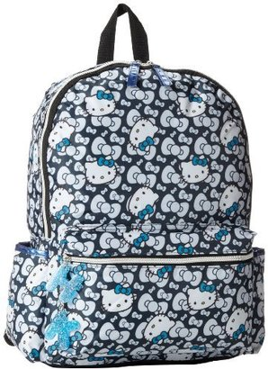 Hello Kitty FAB Starpoint Big Girls' Blue Bow Backpack